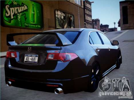Honda Accord Mugen для GTA 4 вид слева