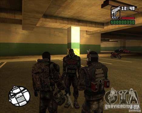 Сталкеры Группировки Долг для GTA San Andreas третий скриншот