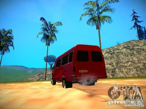 ГАЗель 32213 Бизнес v1.0 для GTA San Andreas салон