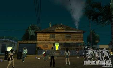 Проект Х на Grove Street для GTA San Andreas четвёртый скриншот