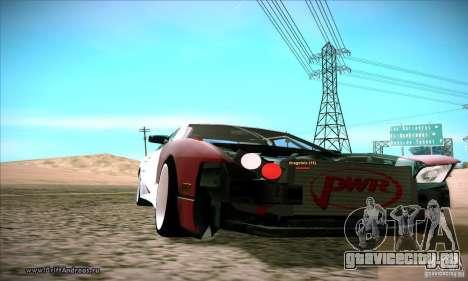 Elegy 180SX для GTA San Andreas вид сзади слева