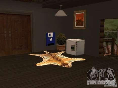 Новая Вилла для CJ для GTA San Andreas четвёртый скриншот