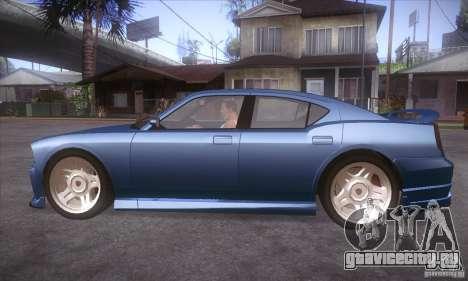 GTA IV Buffalo для GTA San Andreas вид слева