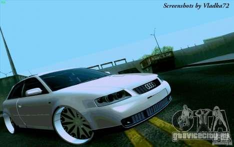 Audi A3 DUB Edition для GTA San Andreas