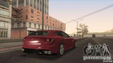 Ferrari FF 2011 V1.0 для GTA San Andreas вид снизу