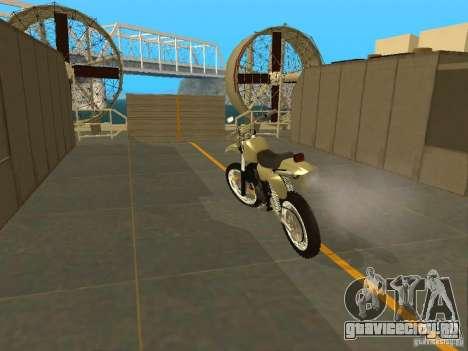 Мотоцикл Чезет для GTA San Andreas вид сзади слева