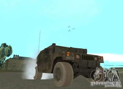Hummer Cav 033 для GTA San Andreas вид сзади