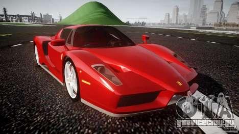 Ferrari Enzo для GTA 4 вид изнутри
