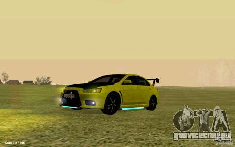 Mitsubishi Lancer Evolution Drift для GTA San Andreas