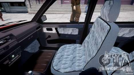 ВАЗ-21093i для GTA 4 вид изнутри