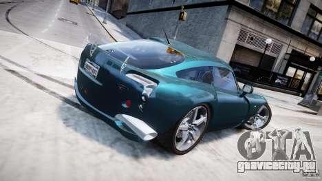 TVR Sagaris для GTA 4 вид сверху