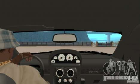 Panoz Esperante GTLM 2005 для GTA San Andreas вид сзади