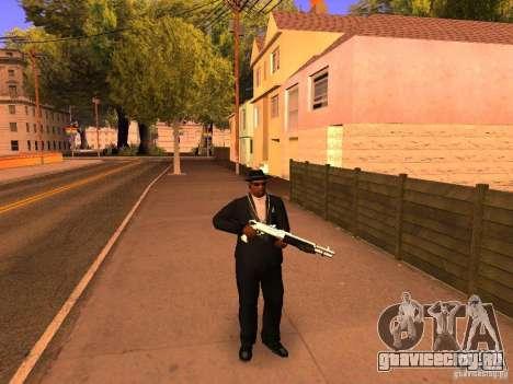 TeK Weapon Pack для GTA San Andreas второй скриншот