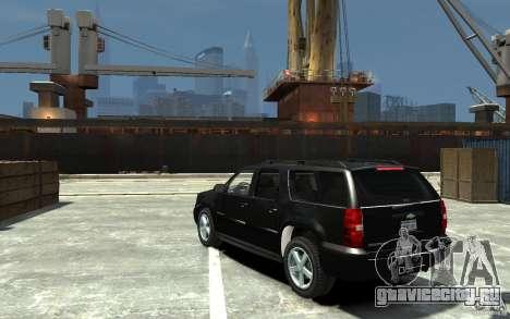 Chevrolet Suburban 2008 (beta) для GTA 4 вид сзади слева