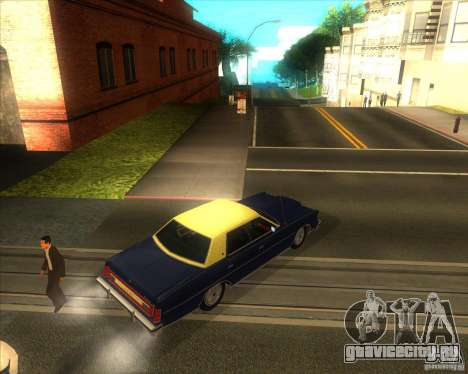 Ford LTD Brougham 4 door 1975 для GTA San Andreas вид сзади слева