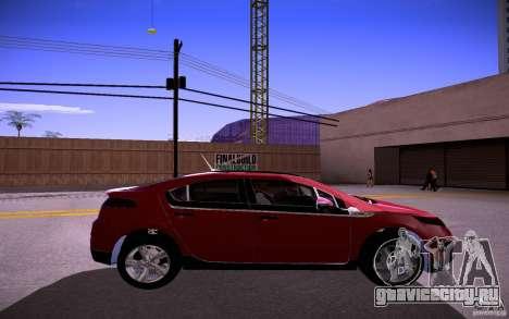 Chevrolet Volt для GTA San Andreas вид справа