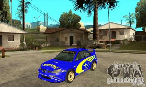 Subaru Impreza STi WRC wht2 для GTA San Andreas