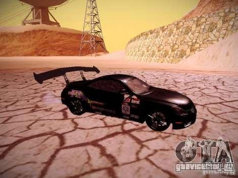 Lexus SC430 Daigo Saito для GTA San Andreas вид справа