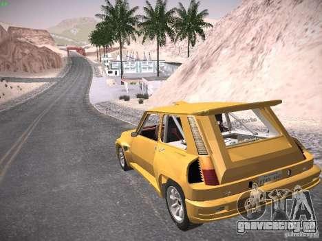 Renault 5 Turbo для GTA San Andreas вид слева