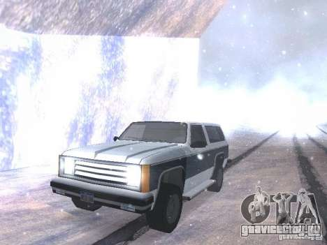 Snow MOD HQ V2.0 для GTA San Andreas шестой скриншот