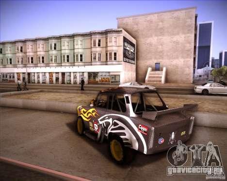 Trabant drag для GTA San Andreas вид слева