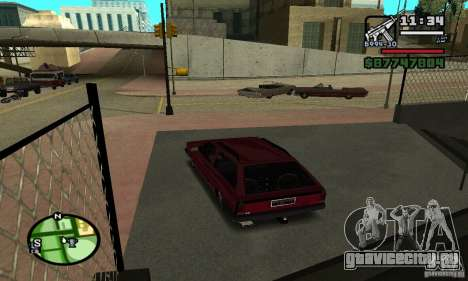 Volkswagen Parati GL 1995 для GTA San Andreas вид слева