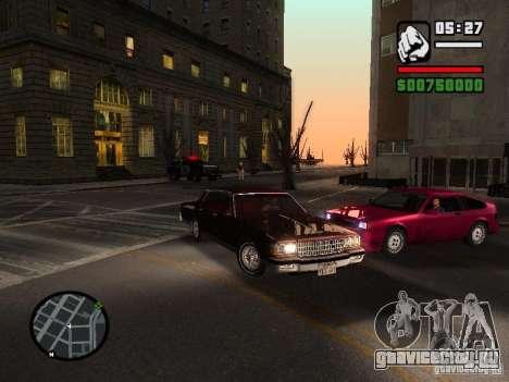 Chevrolet Caprice Classic 87 для GTA San Andreas вид справа