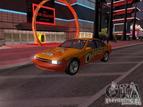 Chevrolet Impala SS 1995 для GTA San Andreas колёса
