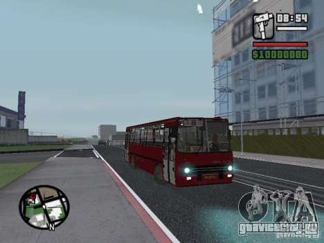 Ikarus 260.51 для GTA San Andreas