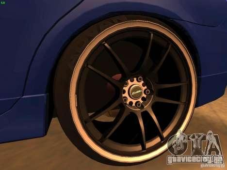 Dodge Neon SRT4 2006 для GTA San Andreas вид сзади