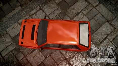Lancia Delta HF 4WD для GTA 4 вид сверху