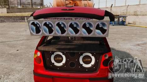 Volkswagen Polo Edit для GTA 4 вид сбоку