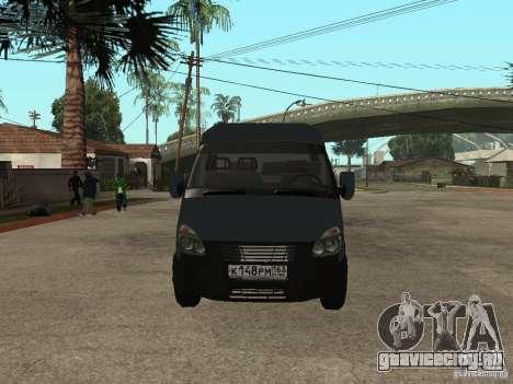 ГАЗель 2705 Бизнес для GTA San Andreas вид слева