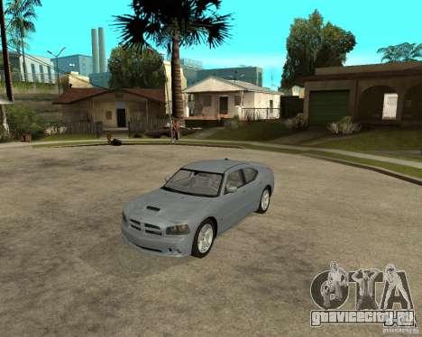 Dodge Charger SRT8 для GTA San Andreas вид слева