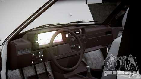 ВАЗ 21083i для GTA 4 вид снизу