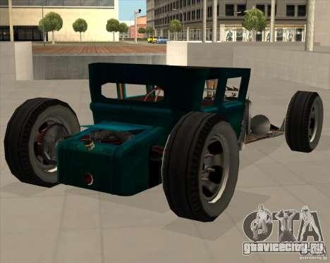 Ford model T 1925 ratrod для GTA San Andreas вид справа