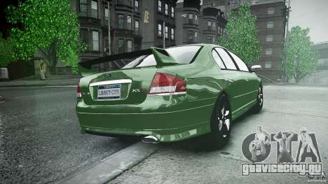 Ford Falcon XR8 2007 Rim 1 для GTA 4 вид сбоку