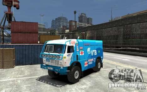 КамАЗ 4911 Rally МАСТЕР для GTA 4