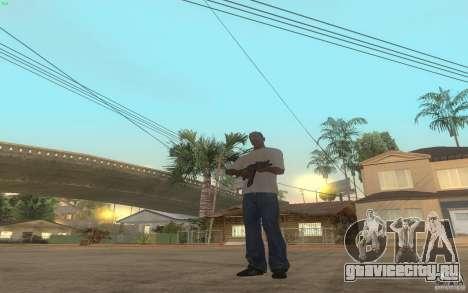 AKS-74U для GTA San Andreas пятый скриншот