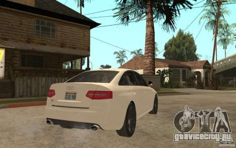 Audi RS6 2009 для GTA San Andreas вид справа