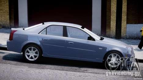 Cadillac CTS-V для GTA 4 вид слева