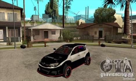 Subaru Impreza WRX STi 2008 для GTA San Andreas