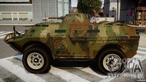 Camo APC для GTA 4 вид слева