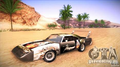 Plymouth Roadrunner Superbird Custom для GTA San Andreas вид справа