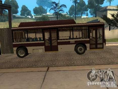 ЛиАЗ 6213.70 для GTA San Andreas вид сзади слева