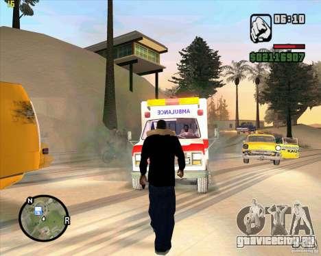 Cкорая помощь для GTA San Andreas третий скриншот