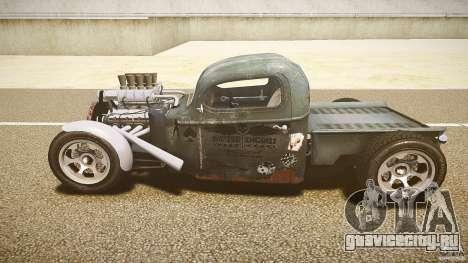 Ford Ratrod 1936 для GTA 4 вид изнутри