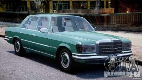 Mercedes-Benz 280SE W116 для GTA 4 вид слева
