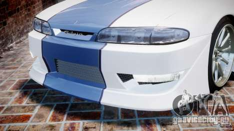 Nissan Silvia S14 [EPM] для GTA 4 колёса