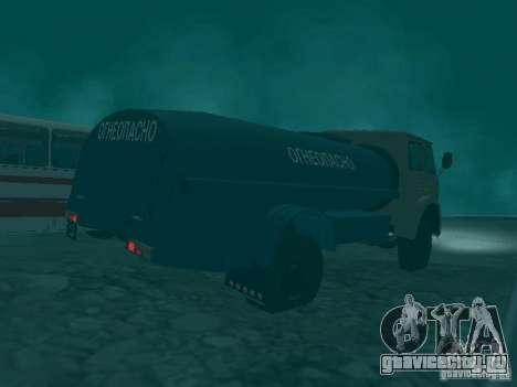 МАЗ 503 для GTA San Andreas вид сзади